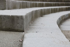 Современная конкретная деталь лестниц Стоковое Изображение RF