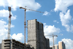 Современная конструкция жилого дома Стоковая Фотография RF