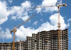Современная конструкция жилого дома Стоковое фото RF