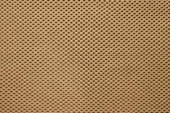 Современная коричневая текстура ткани Стоковое Фото
