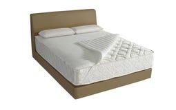 Современная кровать платформы Стоковые Изображения RF