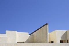 Современная крыша виллы стоковая фотография