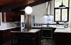 Современная кухня Стоковое Изображение RF