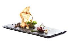 Современная молекулярная кухня Стоковые Изображения RF