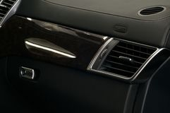 Современная панель воздушной подушки автомобиля Стоковые Фотографии RF