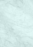 Современная пастельная голубая мраморная бумага предпосылки текстуры Стоковое фото RF