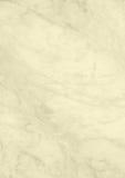 Современная пастельная желтая мраморная бумага предпосылки текстуры Стоковая Фотография