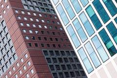 Современная предпосылка здания архитектуры Стоковое Изображение
