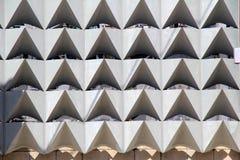 Современная предпосылка в конкретных геометрических формах Стоковое фото RF