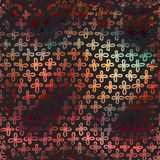 Современная предпосылка с красочными крестами радуги Стоковое фото RF