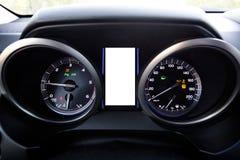 Современная приборная панель стиля SUV Стоковое Изображение RF
