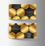Современная простая светлая визитная карточка Стоковая Фотография RF