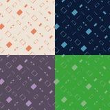 Современная плоская картина устройств Стоковые Изображения RF