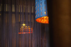 Современная роскошная лампа внутреннего освещения Стоковые Фото