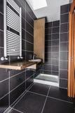 Современная роскошная ванная комната Стоковое фото RF
