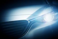 Современная роскошная предпосылка конца-вверх автомобиля Стоковые Изображения RF