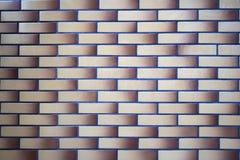 Современная серая предпосылка кирпичной стены Стоковые Фотографии RF