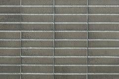 Современная серая текстура предпосылки кирпичной стены стоковые фотографии rf