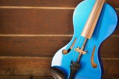Современная скрипка Стоковое Изображение RF
