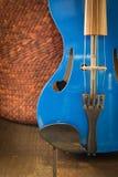 Современная скрипка Стоковая Фотография