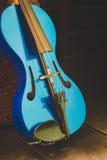 Современная скрипка Стоковое Фото
