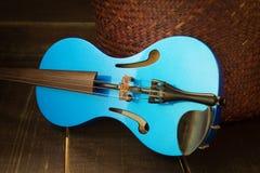 Современная скрипка Стоковая Фотография RF