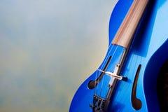 Современная скрипка Стоковое фото RF