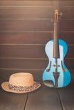 Современная скрипка Стоковые Изображения RF