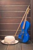 Современная скрипка Стоковое Изображение