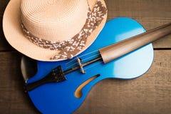 Современная скрипка Стоковые Фотографии RF