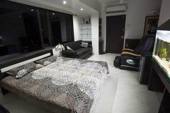 современная спальня Стоковое Изображение