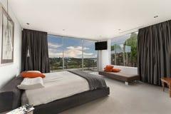 Современная спальня Стоковая Фотография RF