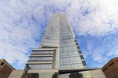 Современная стеклянная башня офиса Стоковое фото RF