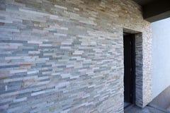 Современная стена дома Стоковые Изображения