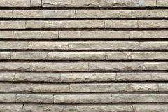 Современная стена от прямоугольных блоков гранита Стоковое Изображение RF