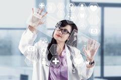 Современная технология в медицинской стоковая фотография