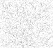 Современная флористическая безшовная картина для вашего дизайна иллюстрация вектора