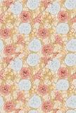Современная флористическая безшовная картина для вашего дизайна вектор Справочная информация Стоковое фото RF