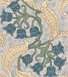 Современная флористическая безшовная картина для вашего дизайна вектор Справочная информация Стоковые Фото