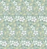 Современная флористическая безшовная картина для вашего дизайна вектор Справочная информация Стоковое Изображение