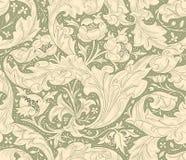 Современная флористическая безшовная картина для вашего дизайна вектор Справочная информация Стоковая Фотография RF