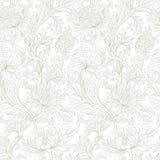 Современная флористическая безшовная картина для вашего дизайна вектор Справочная информация Стоковое Изображение RF