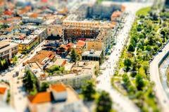 Современная часть города Berat Стоковое Изображение