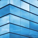 Современная часть фасада офиса Стоковая Фотография RF