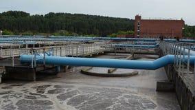 Современная чистка воды сток-видео