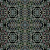 Современная multicolor безшовная картина калейдоскопа иллюстрация вектора