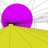 Современное внутреннее изображение Стоковое фото RF