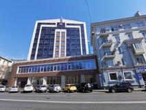 Современное здание суда арбитража на улице Svetlanskaya стоковые фото