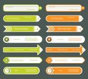 Современное знамя вариантов infographics. Иллюстрация вектора. можно использовать для плана потока операций, diagram, варианты ном иллюстрация штока