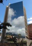 Современное здание в Каракасе Венесуэле стоковое изображение